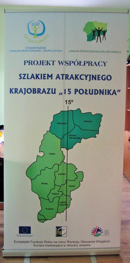 Ilustracja do informacji: Projekt Współpracy Szlakiem Atrakcyjnego Krajobrazu 15. Południka